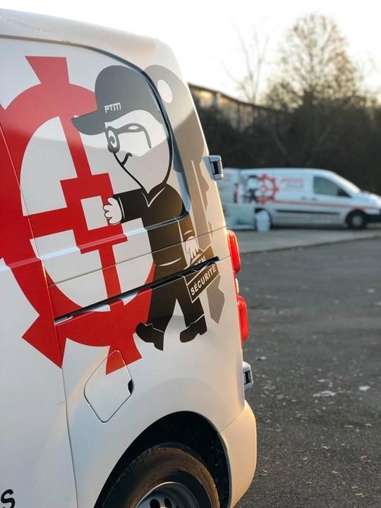 camionnette-ptm-sécurité-serrurier dépannage-mulhouse